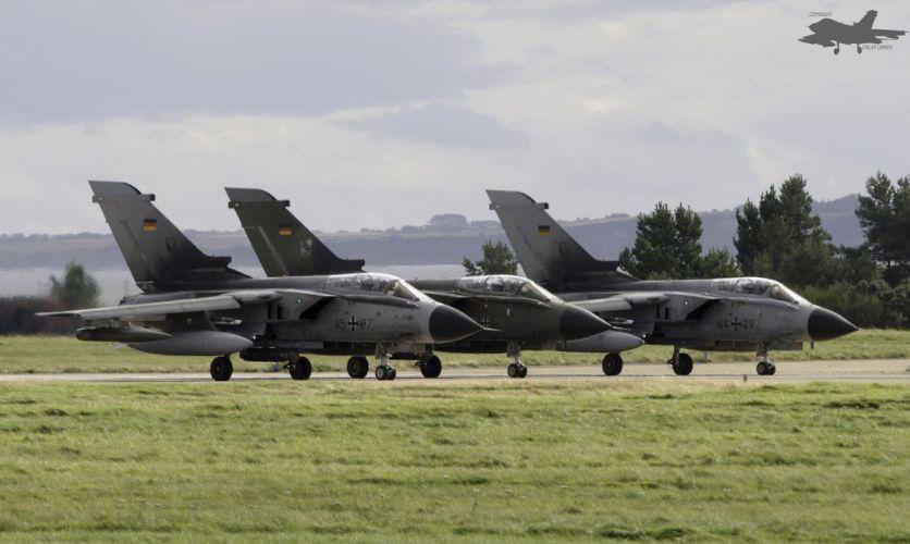 Air aircrafts Fighter Germany jet panavia tornado wallpaper