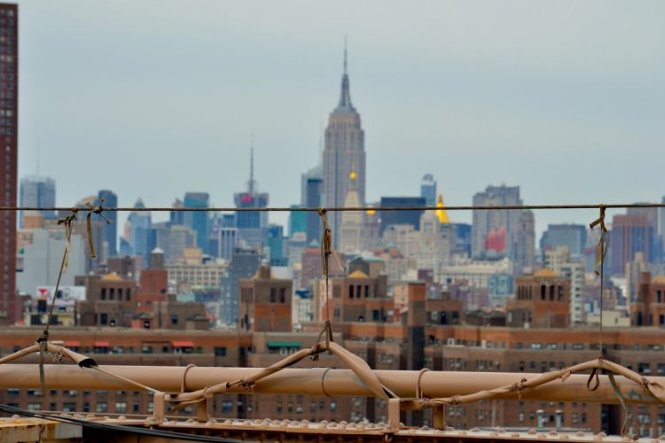 architecture bay black buildings cities clouds nyc rivers sky water world new York big apple wallpaper