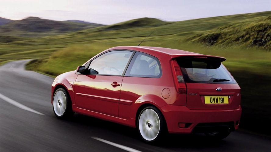 Ford Fiesta ST 2004 wallpaper