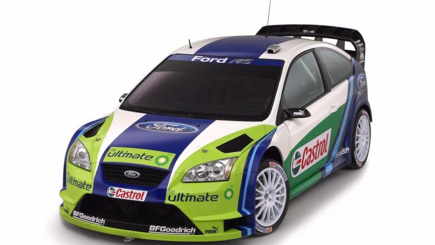 2007 Ford Focus RS WRC wallpaper