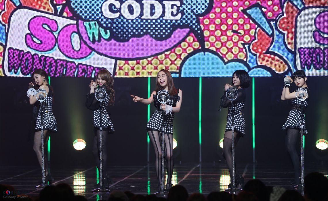 LADIES CODE kpop k-pop pop concert wallpaper