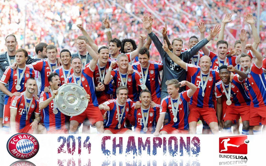 2014 champion bayern Munich wallpaper