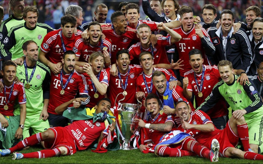 2013 Bayern Munich Champion's League Winner wallpaper