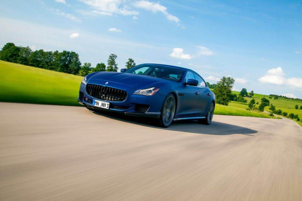 2014 tuning novitec tridente supercars Maserati Quattroporte wallpaper