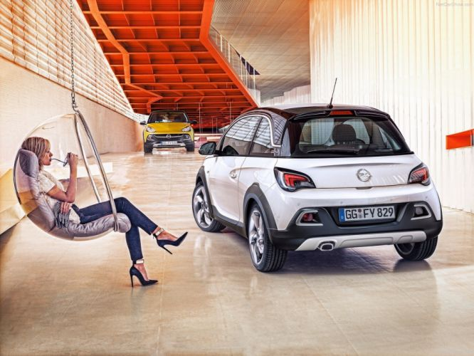 Opel Adam Rocks 2015 cars wallpaper