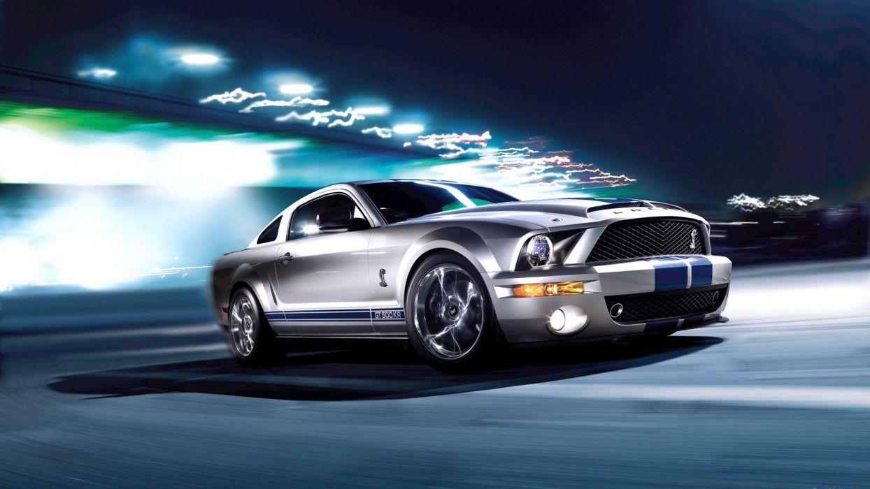 Ford Mustang 2008 Shelby GT500KR wallpaper