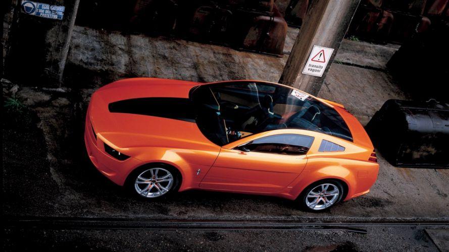 Ford Mustang Giugiaro Concept (2006) wallpaper