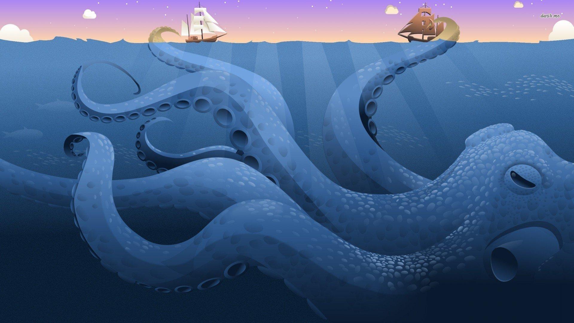 beautiful octopus wallpaper - photo #36