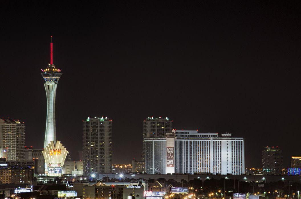 casino cities deserts dollars las nevada tower USA Vegas night wallpaper