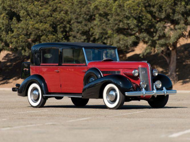 1936 Buick Roadmaster retro luxury ds wallpaper
