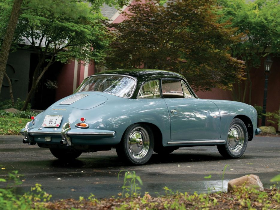 1961 Porsche 356B 1600 Super Coupe Karmann classic d wallpaper