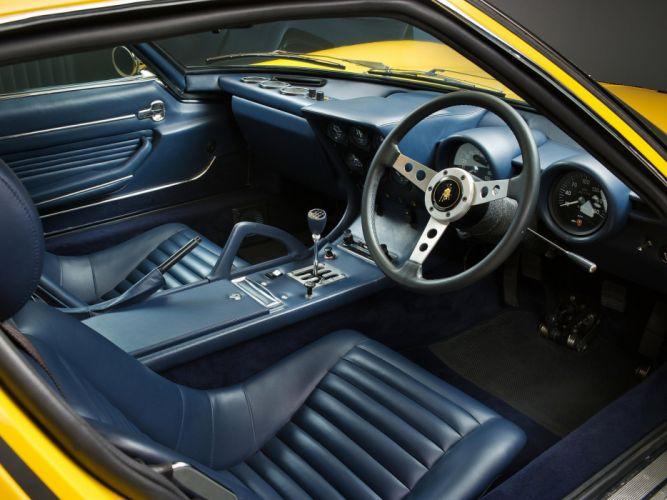 1971 Lamborghini Miura P400 S-V UK-spec supercar classic df wallpaper