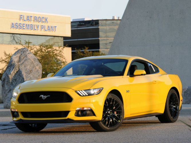 2015 Ford Mustang G-T muscle wallpaper