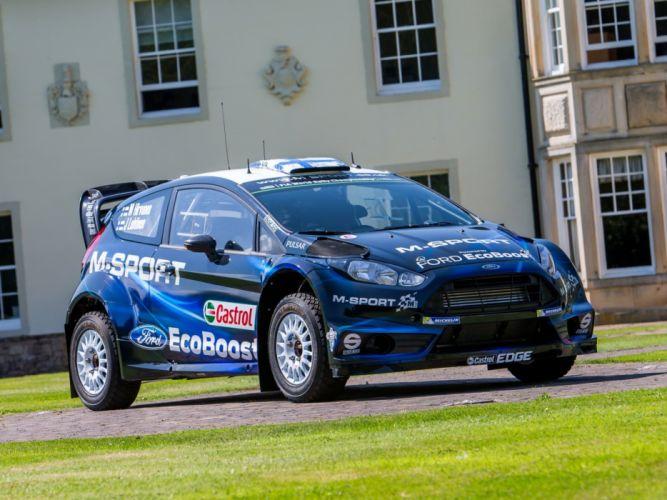 2014 Ford Fiesta R-S WRC race racing wallpaper
