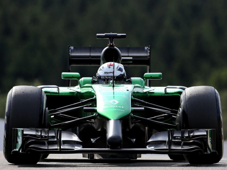 2014 Caterham CT05 formula f-1 race racing wallpaper