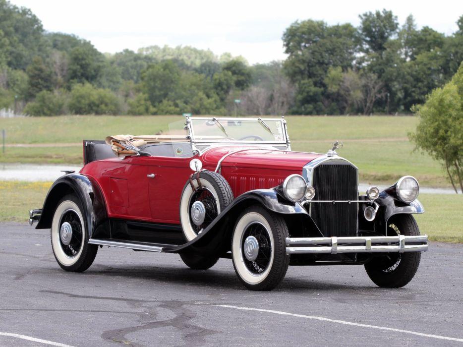 1929 Pierce Arrow Model-125 Roadster luxury retro d wallpaper