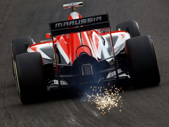 2014 Marussia MR03 formula f-1 race racing wallpaper