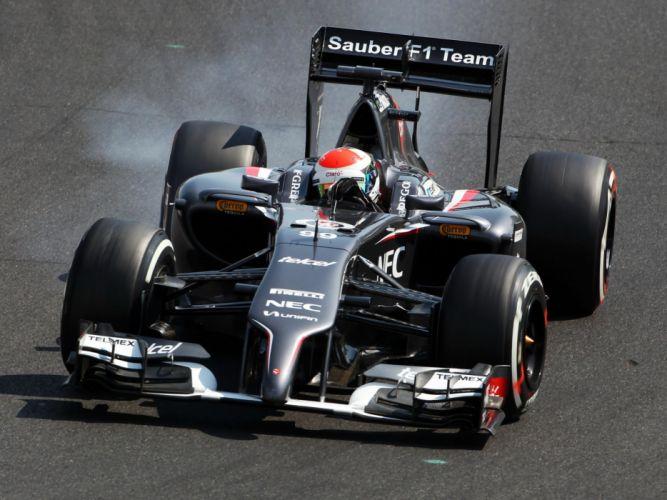 2014 Sauber C33 formula f-1 race racing wallpaper