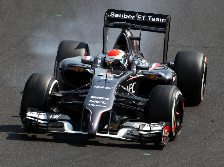 2014 Sauber C33 formula f-1 race racing wallpaper