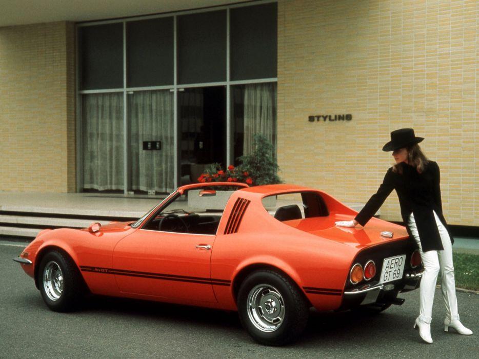 1969 Opel Aero G-T classic wallpaper