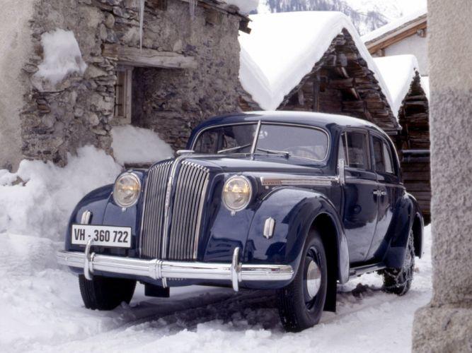 1937 Opel Admiral retro luxury wallpaper