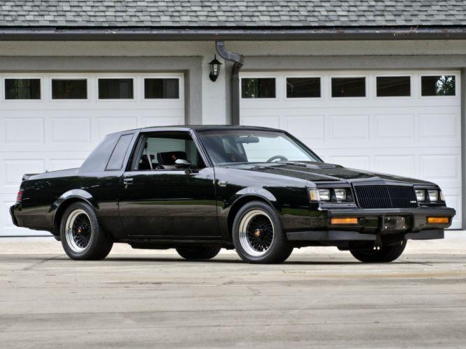 1984-87 Buick Regal Grand National muscle wallpaper