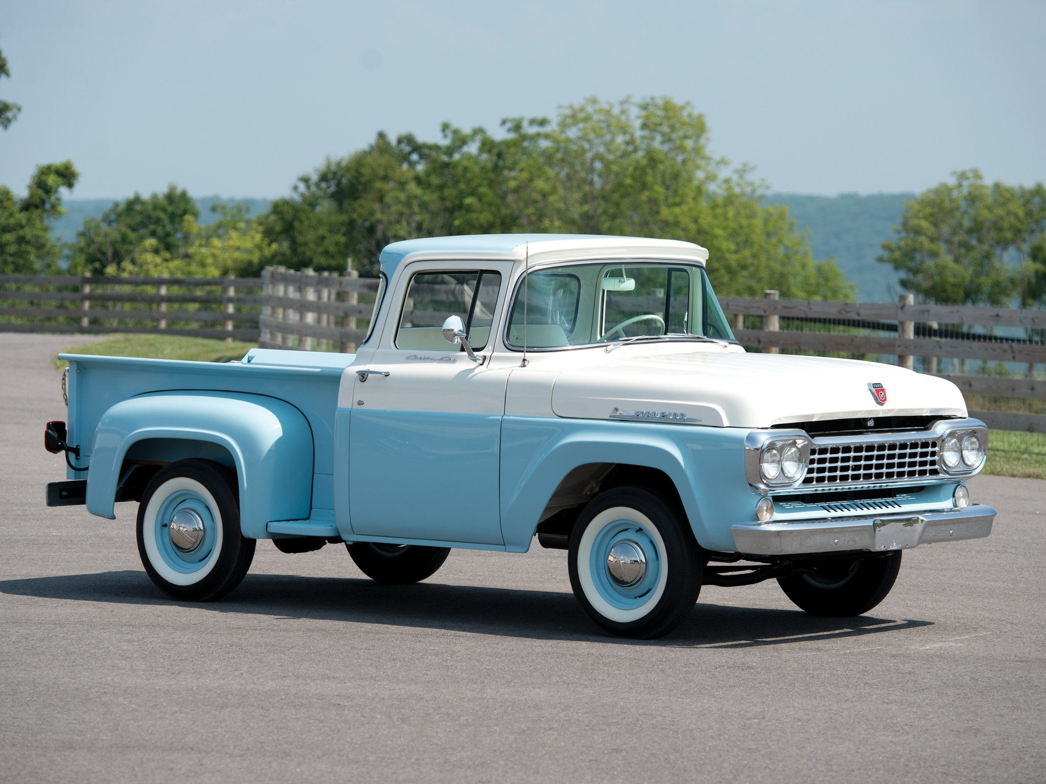 1958 ford f 100 custom cab flareside pickup 8 3 f100 retro wallpaper 2048x1536 435179 wallpaperup