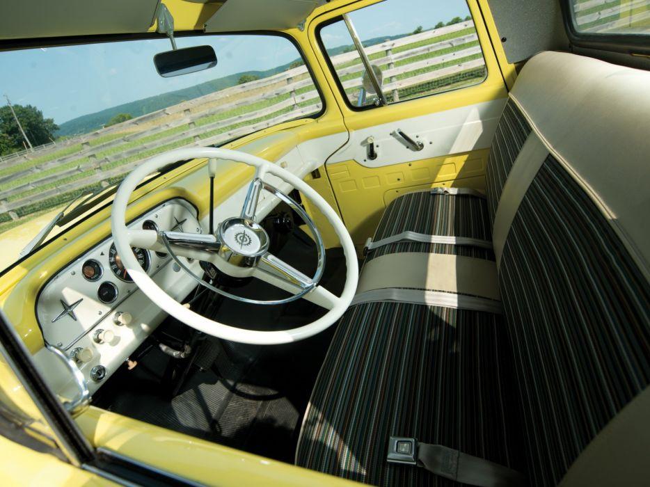 1959 Ford F-100 Custom Cab Styleside Pickup f100 retro wallpaper