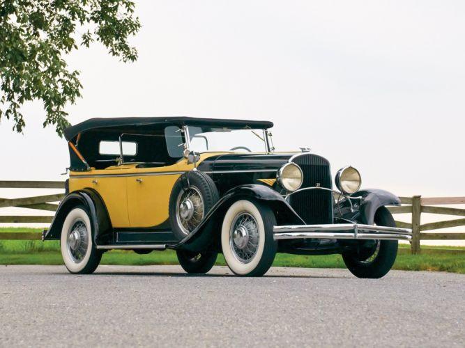 1930 Chrysler Series-77 Dual Cowl Phaeton Locke luxury retro wallpaper
