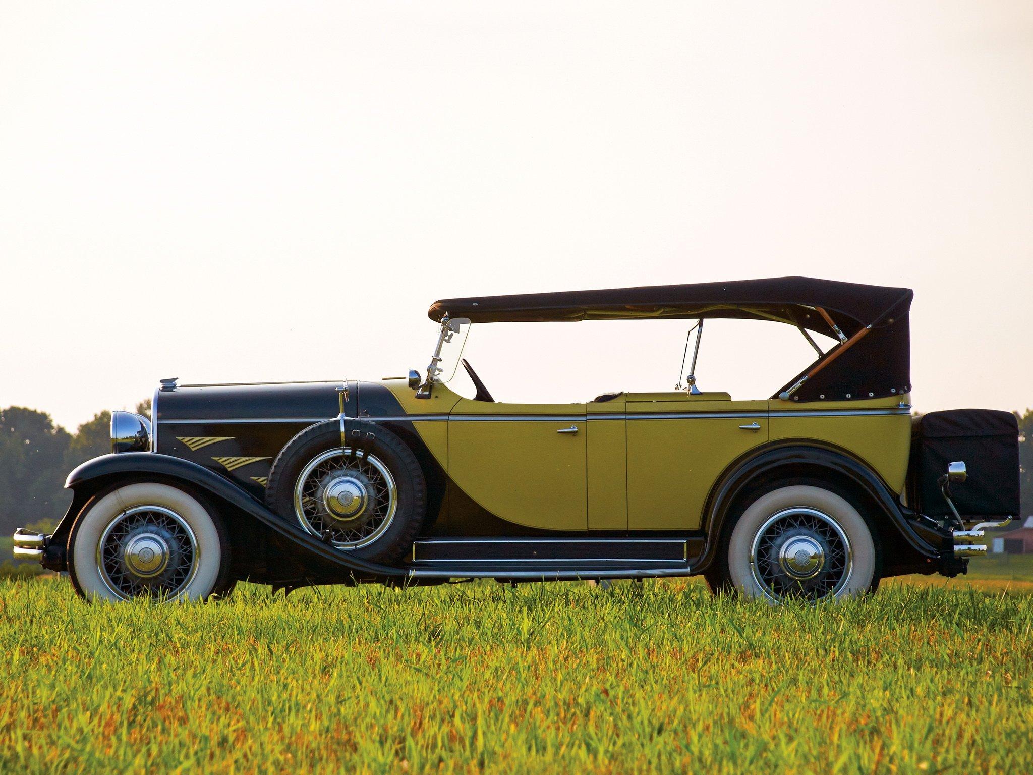 1930 Chrysler Series-77 Dual Cowl Phaeton Locke luxury retro ...