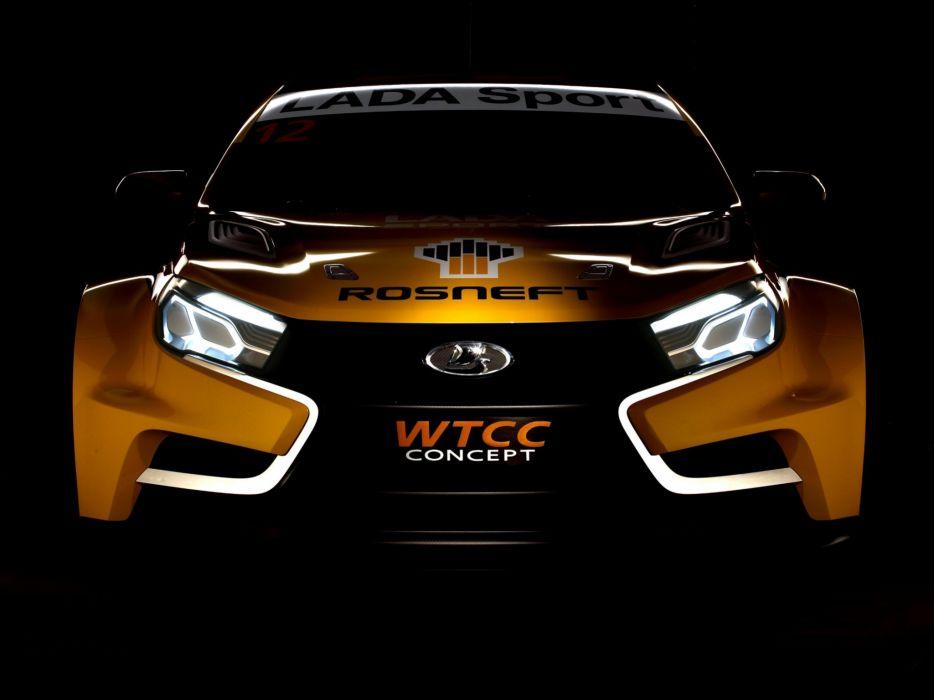 2014 Lada Vesta WTCC Concept race racing wallpaper
