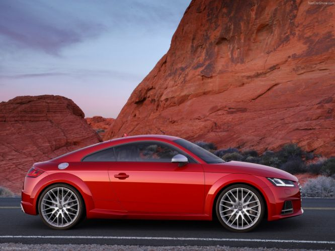 2015 Audi car Coupe Germany red Sport sportcar Supercar tts wallpaper wallpaper
