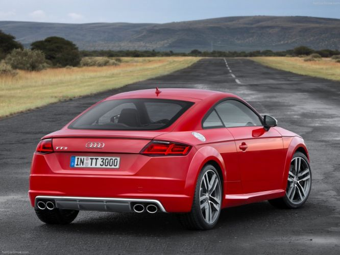 2015 Audi car Coupe Germany red Sport sportcar Supercar tts wallpaper wallpaper