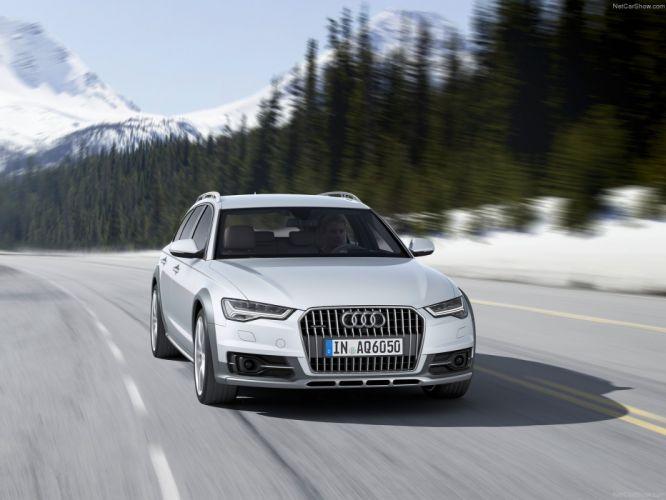 Audi A6 allroad quattro 2015 SUV wallpaper