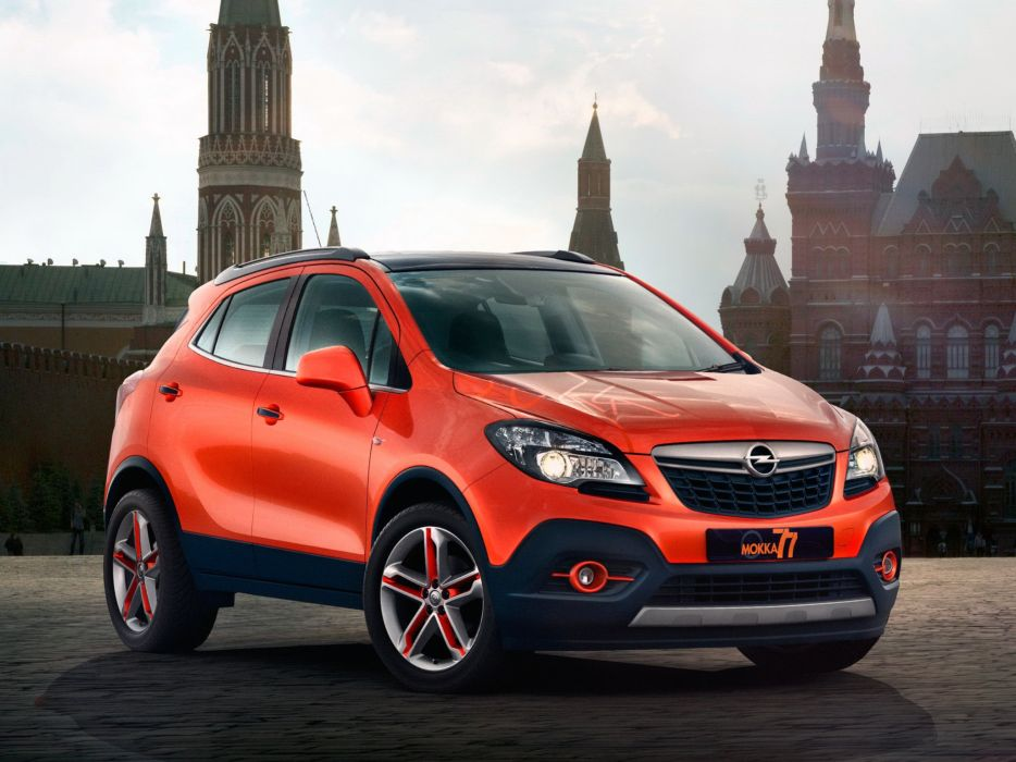 2014 Opel Mokka Moscow-Edition Concept suv wallpaper