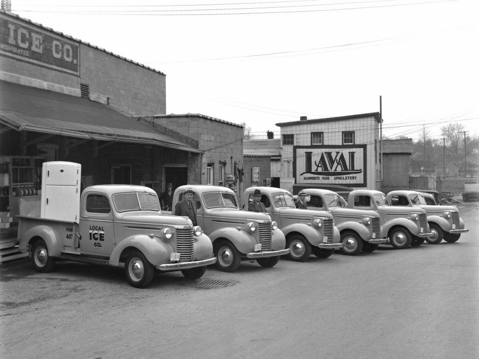 1940 Chevrolet Pickup Truck (KC-3104) delivery retro f wallpaper