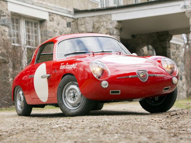 1958-60 Fiat Abarth 750 Record Monza race racing wallpaper
