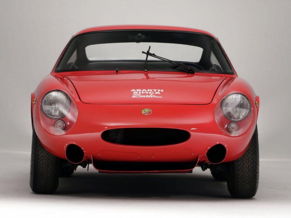 1963-68 Simca Abarth 2000 G-T classic wallpaper