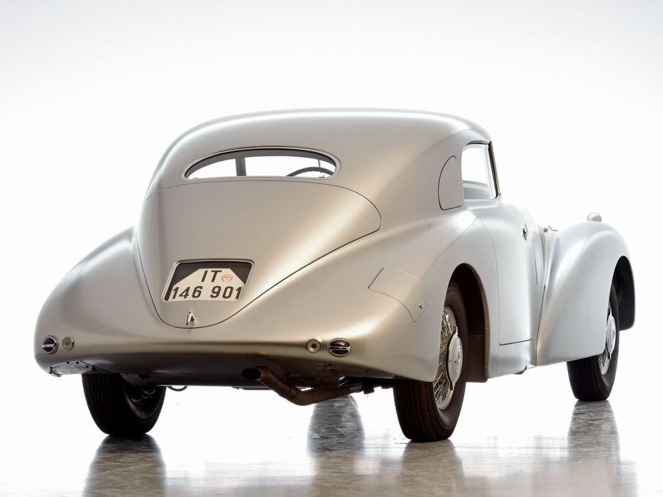 1938 Mercedes Benz 540K Streamliner (W29) retro wallpaper