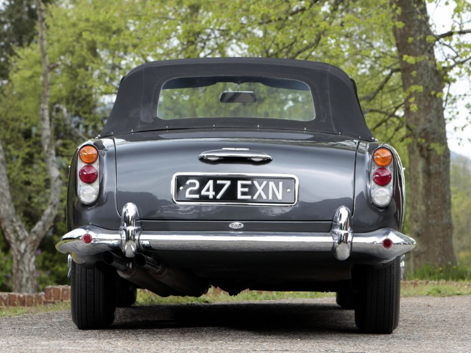 1962 Aston Martin DB4 Convertible classic wallpaper
