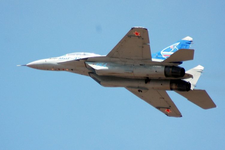 airplane Fighter jet mig mig 35 Military plane russian wallpaper