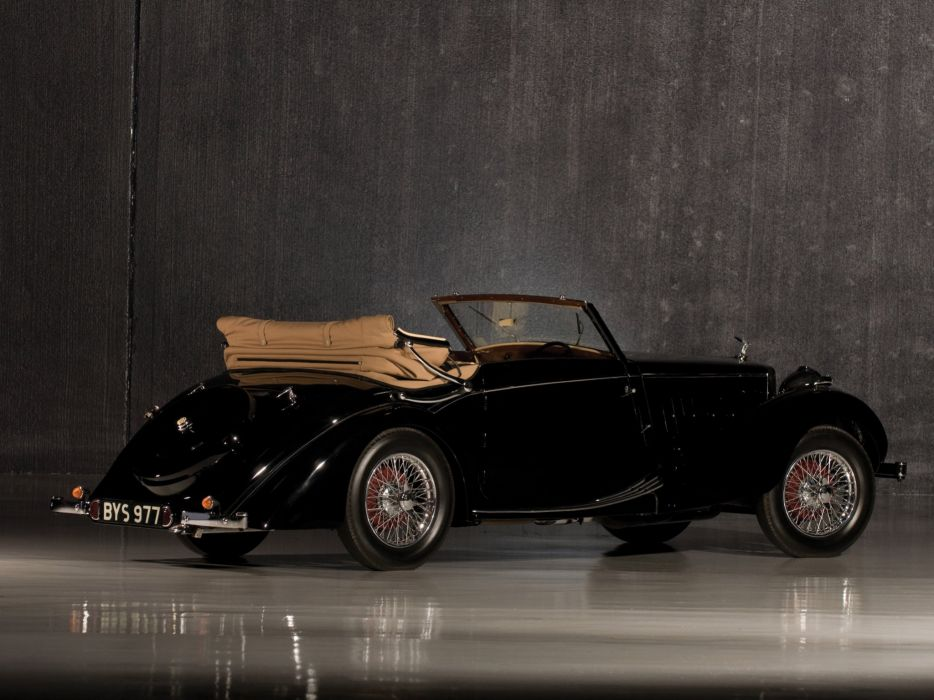1936-39 M-G S-A Tickford Drophead Coupe luxury retro mgsa wallpaper