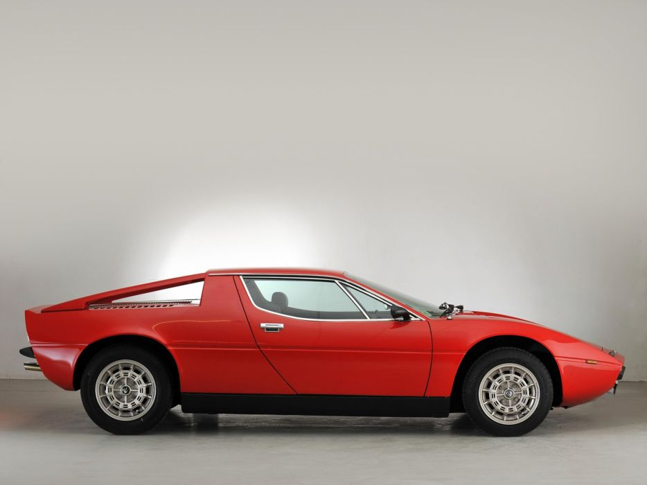 1976 Maserati Merak SS (AM122) supercar s-s wallpaper