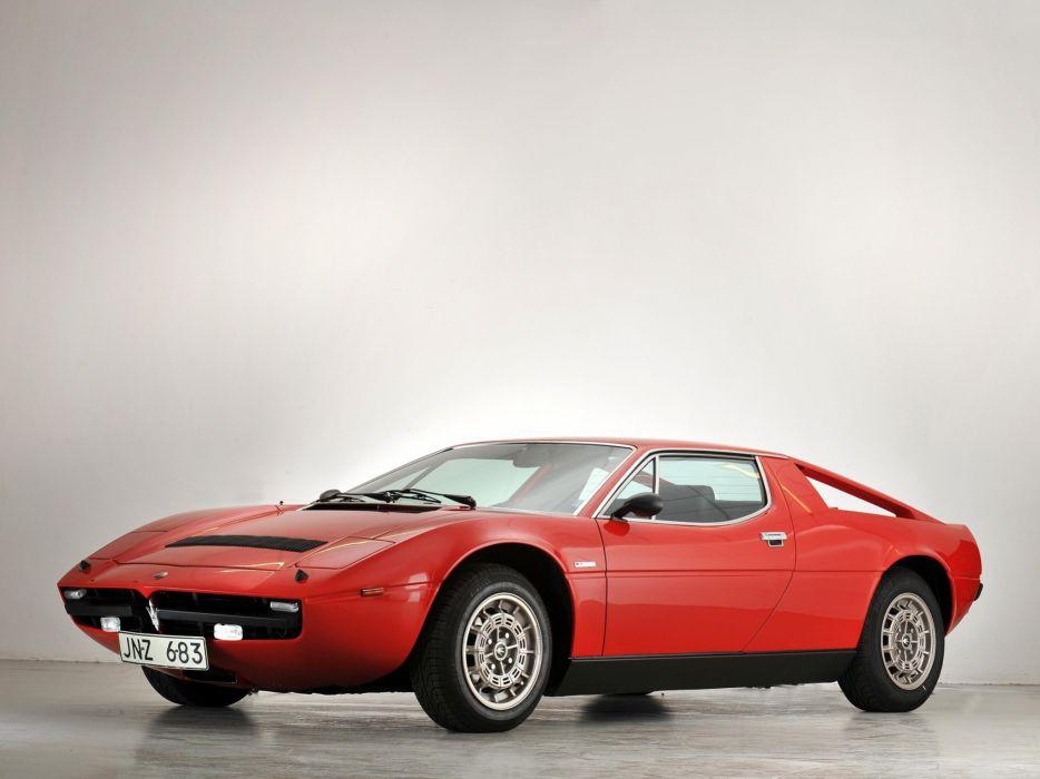 1976 Maserati Merak SS (AM122) supercar s-s wallpaper