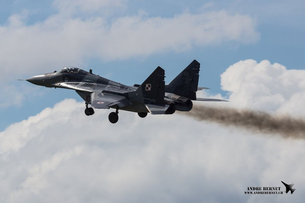 airplane Fighter jet mig mig 29 Military plane russian wallpaper