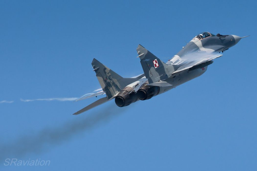 airplane Fighter jet mig Military plane russian wallpaper