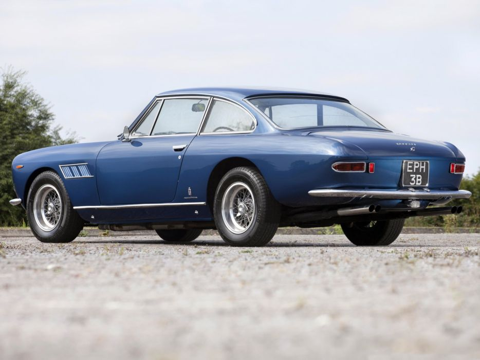 1963-65 Ferrari 330 GT 2+2 UK-spec (Series-I) 2-2 g-t supercar classic wallpaper
