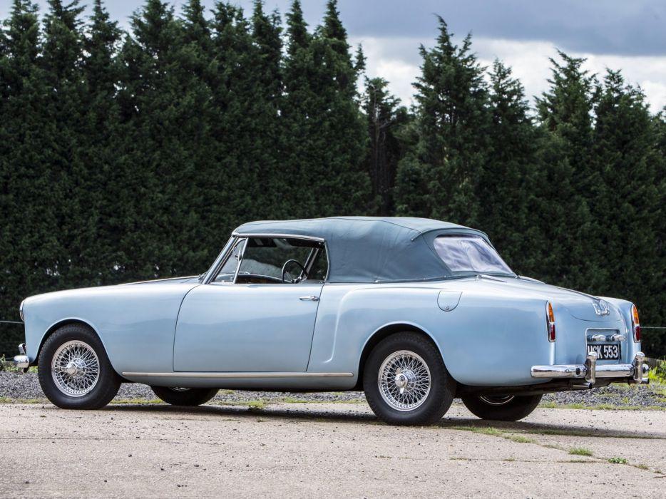 1959-63 Alvis TD21 Drophead Coupe Park Ward luxury wallpaper
