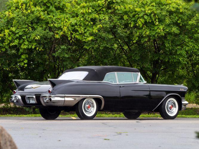1957 Cadillac Sixty-Two Eldorado Special Biarritz (57-6267SX) luxury retro wallpaper