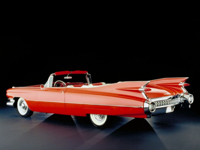 1959 Cadillac Sixty-Two Convertible (6267F) luxury retro wallpaper